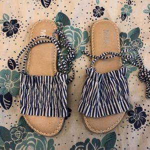 MIA Shoes - Shoes to Frill espadrilles by MIA, sz 9, ModCloth